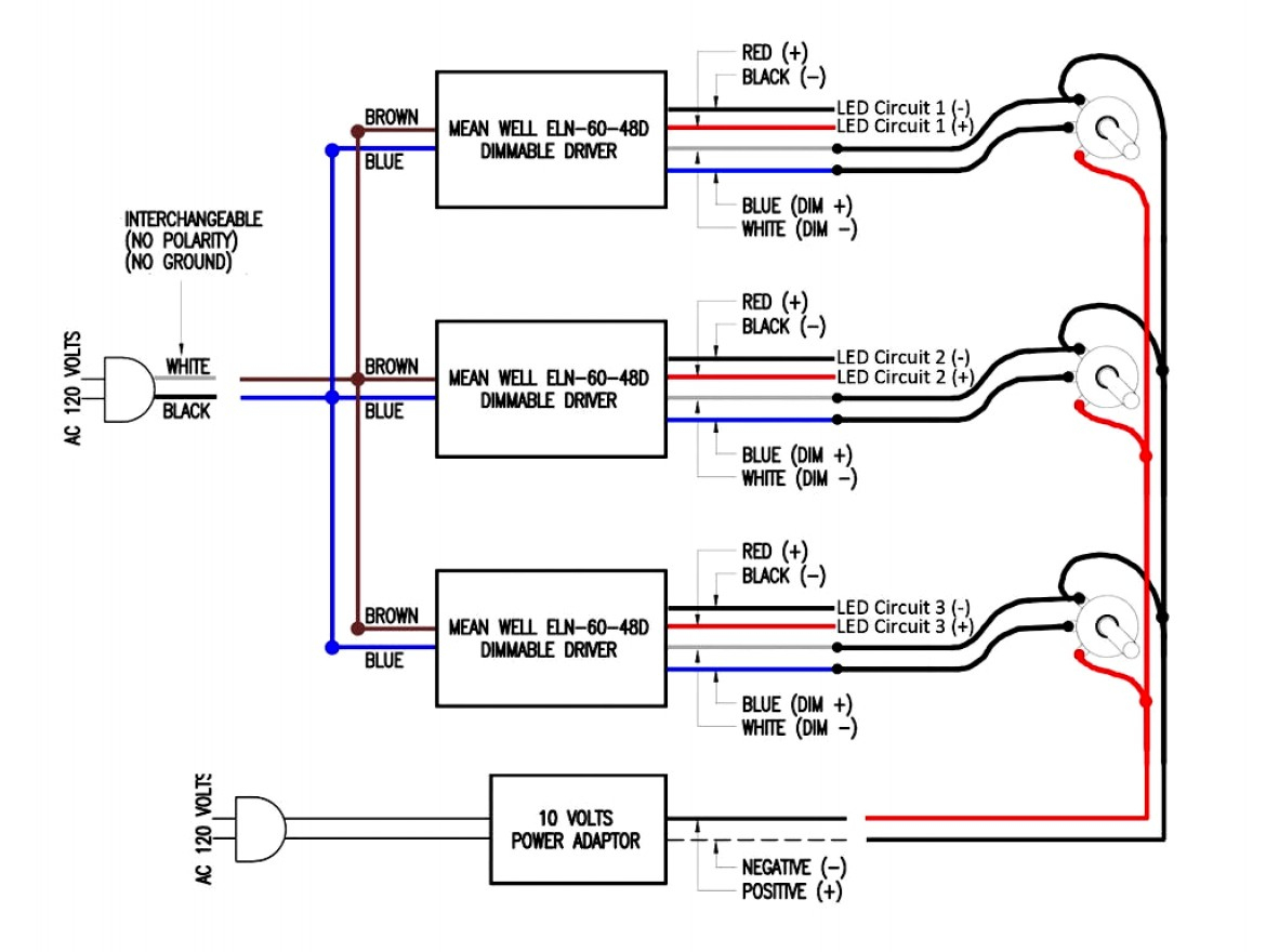 0 10 Volt Dimming Wiring Diagram