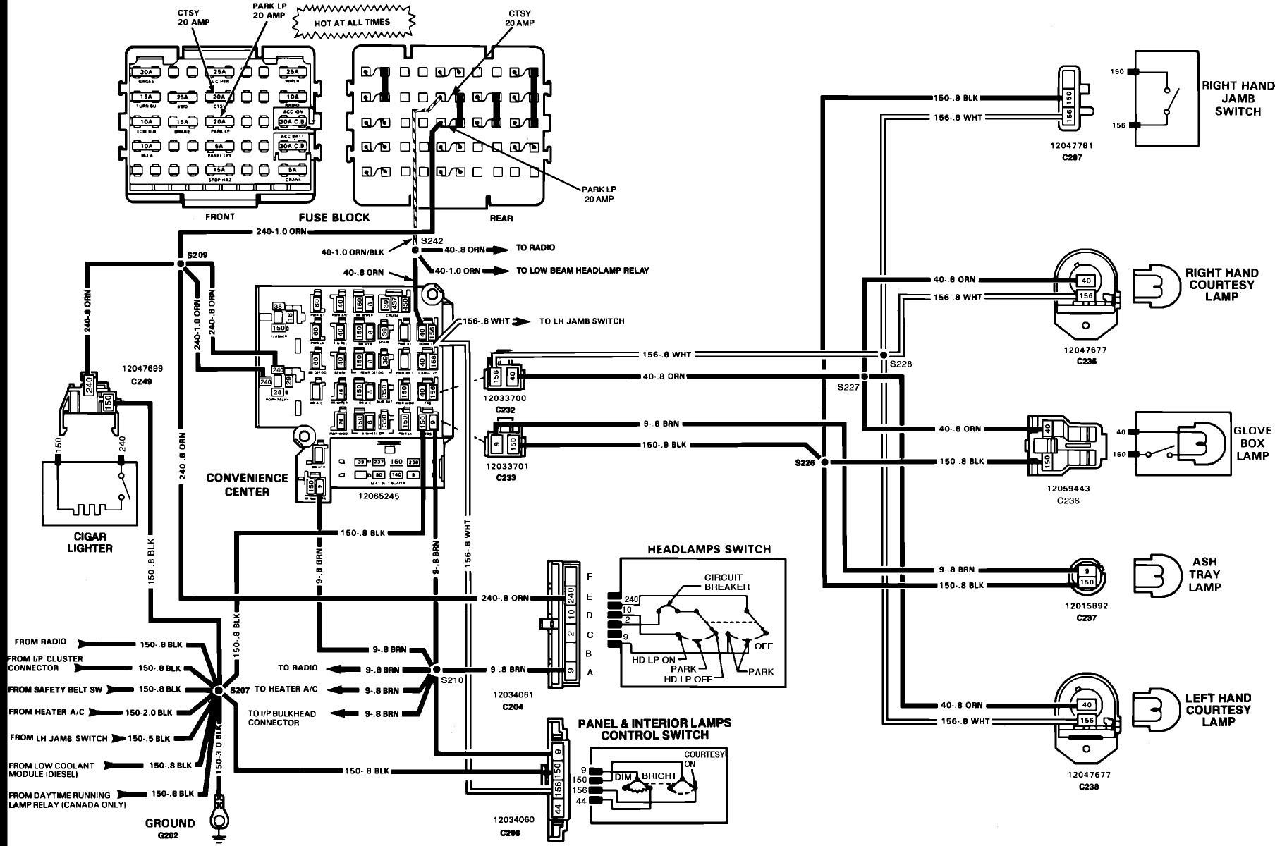 06 Silverado Tail Light Wiring Diagram | Wiring Diagram - Tail Light Wiring Diagram 1995 Chevy Truck