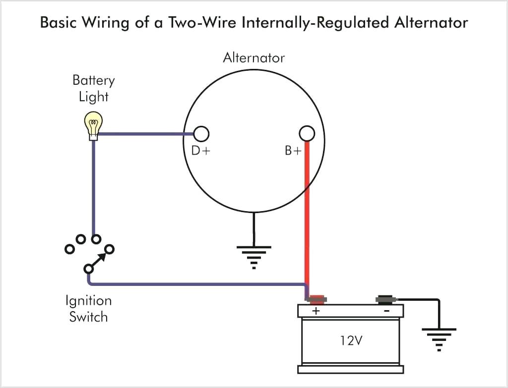 1 Wire Chevy Alternator Wiring Diagram - Wiring Diagram Schema - 1 Wire Alternator Wiring Diagram
