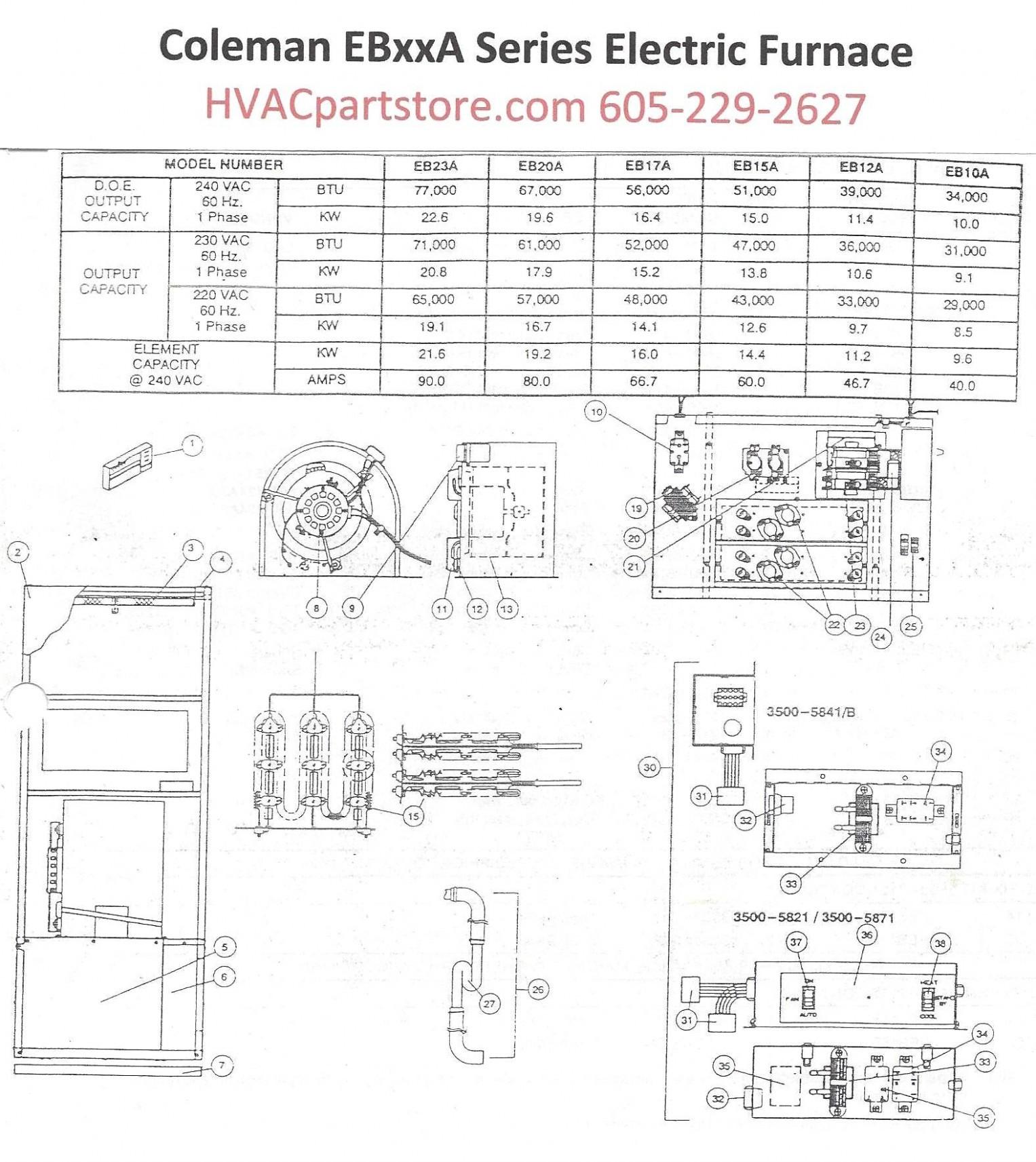 10 Kw Electric Furnace Wiring Diagram | Wiring Library - Coleman Mobile Home Electric Furnace Wiring Diagram