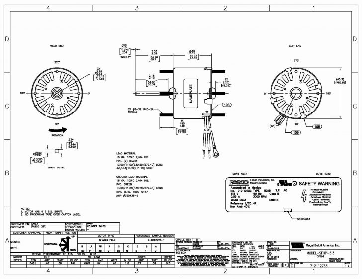 A.o.smith Motors Wiring Diagram
