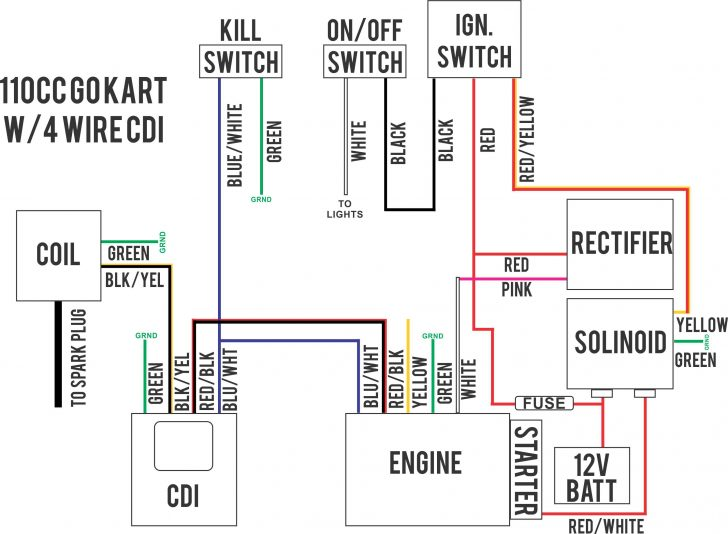 Chinese Atv Wiring Diagram 110