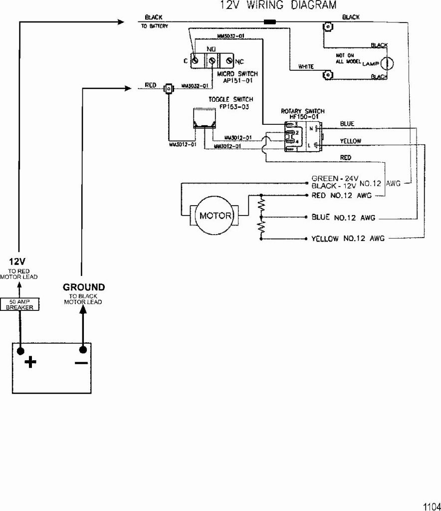 12 24V Trolling Motor Plug Wiring Diagram | Manual E-Books - Minn Kota Trolling Motor Plug And Receptacle Wiring Diagram