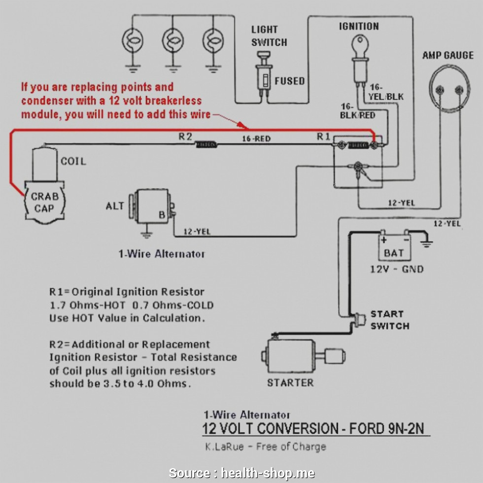 8N Ford Tractor Wiring Diagram 12 Volt from annawiringdiagram.com