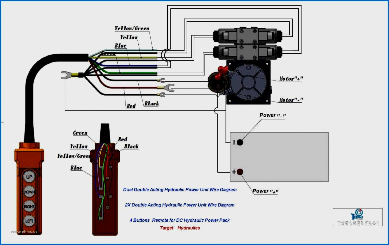 12 Volt Hydraulic Pump Wiring Diagram 12V Power Pack Simplex - 12 Volt Hydraulic Pump Wiring Diagram