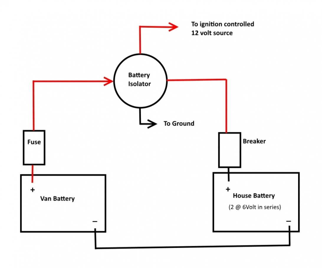 12 Volt Marine Battery Switch Wiring Diagram | Wiring Diagram - Rv Battery Isolator Wiring Diagram