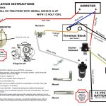 12 Volt Wiring Diagram Ford 8N Tractor 1 Wire Alternator   Wiring   12 Volt Alternator Wiring Diagram