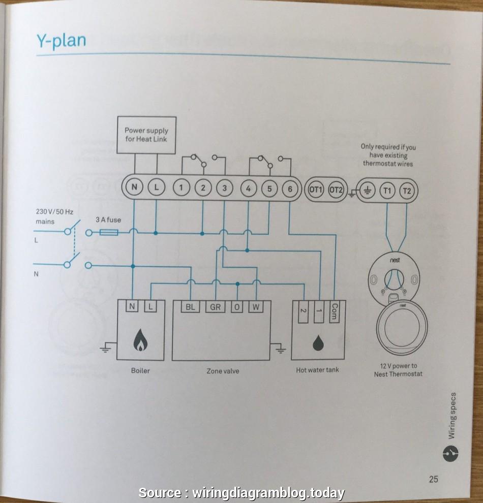 12 Wire Thermostat Wiring Diagram | Wiring Diagram - Nest Thermostat Wiring Diagram Heat Pump