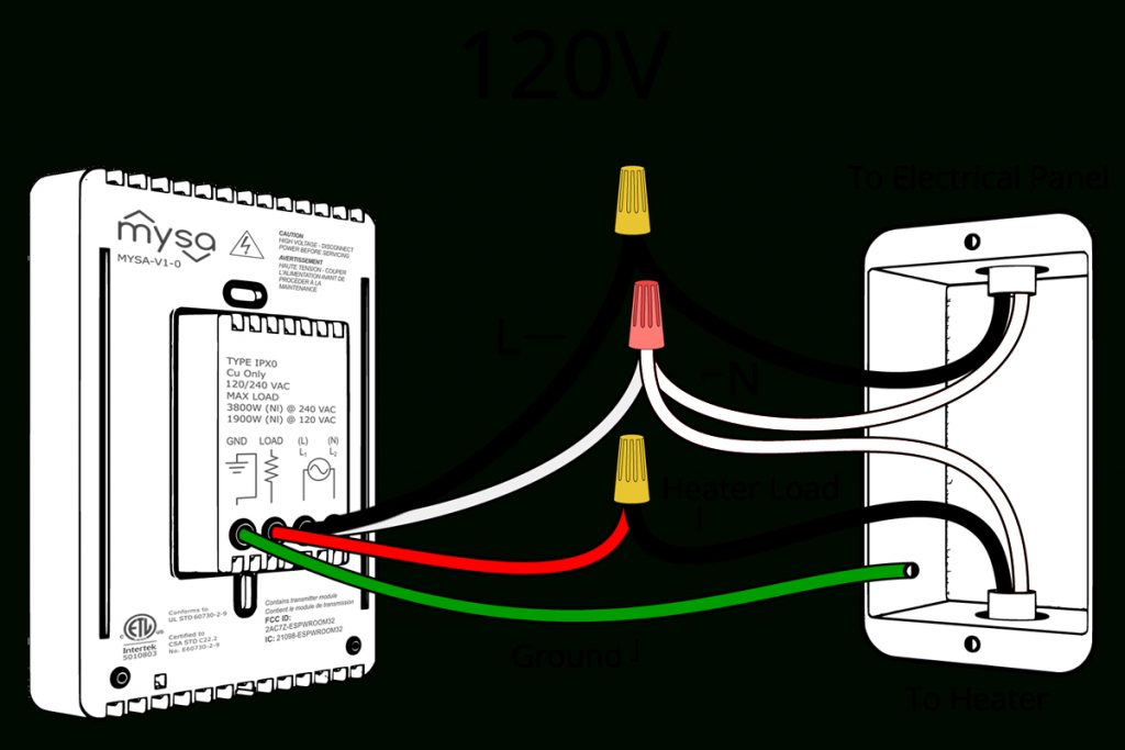 120v Wiring Diagram - Wiring Diagrams Hubs
