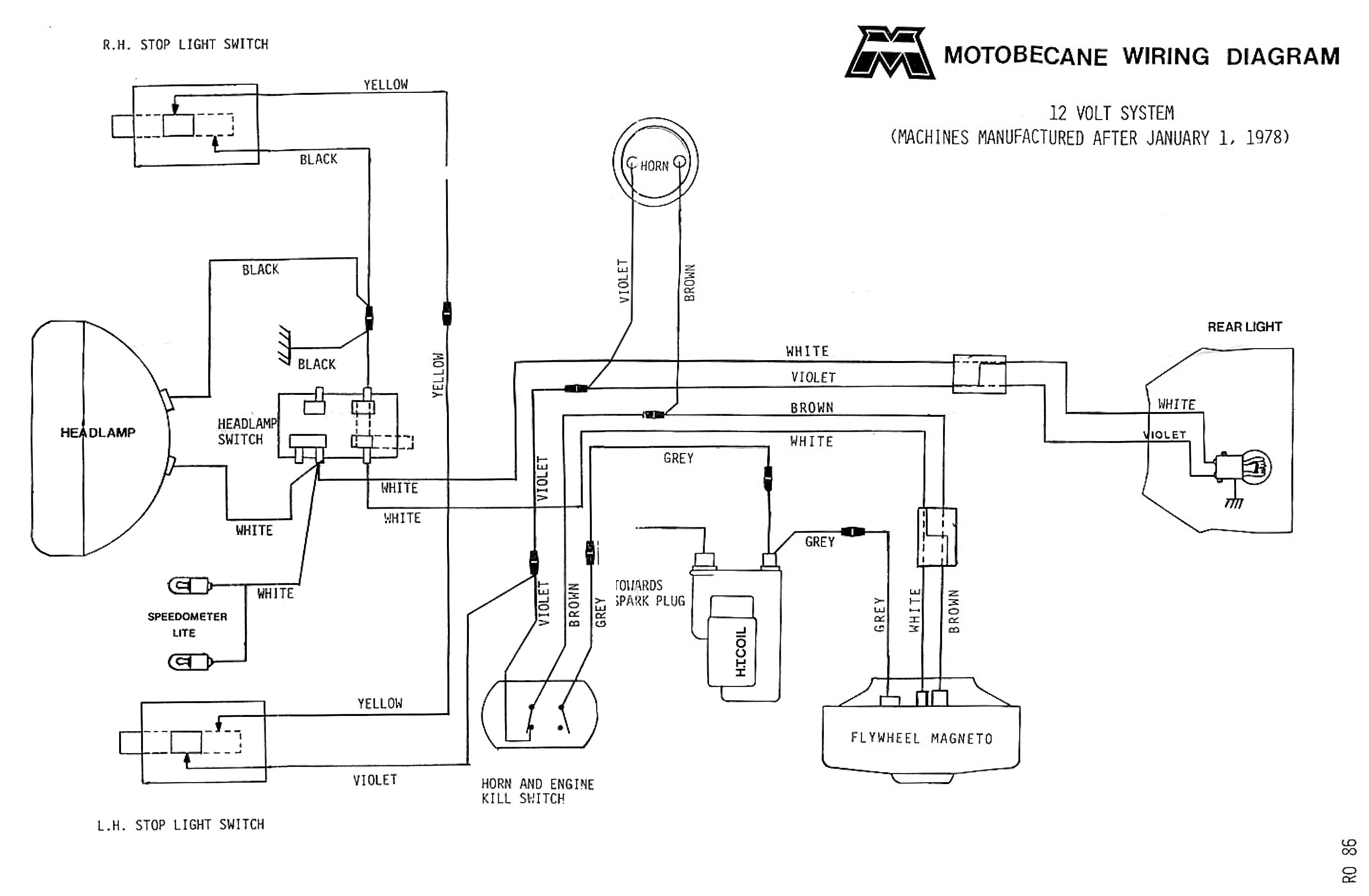1948 Ford 8N 6 Volt Wiring - Wiring Diagram Data - 6 Volt Positive Ground Wiring Diagram