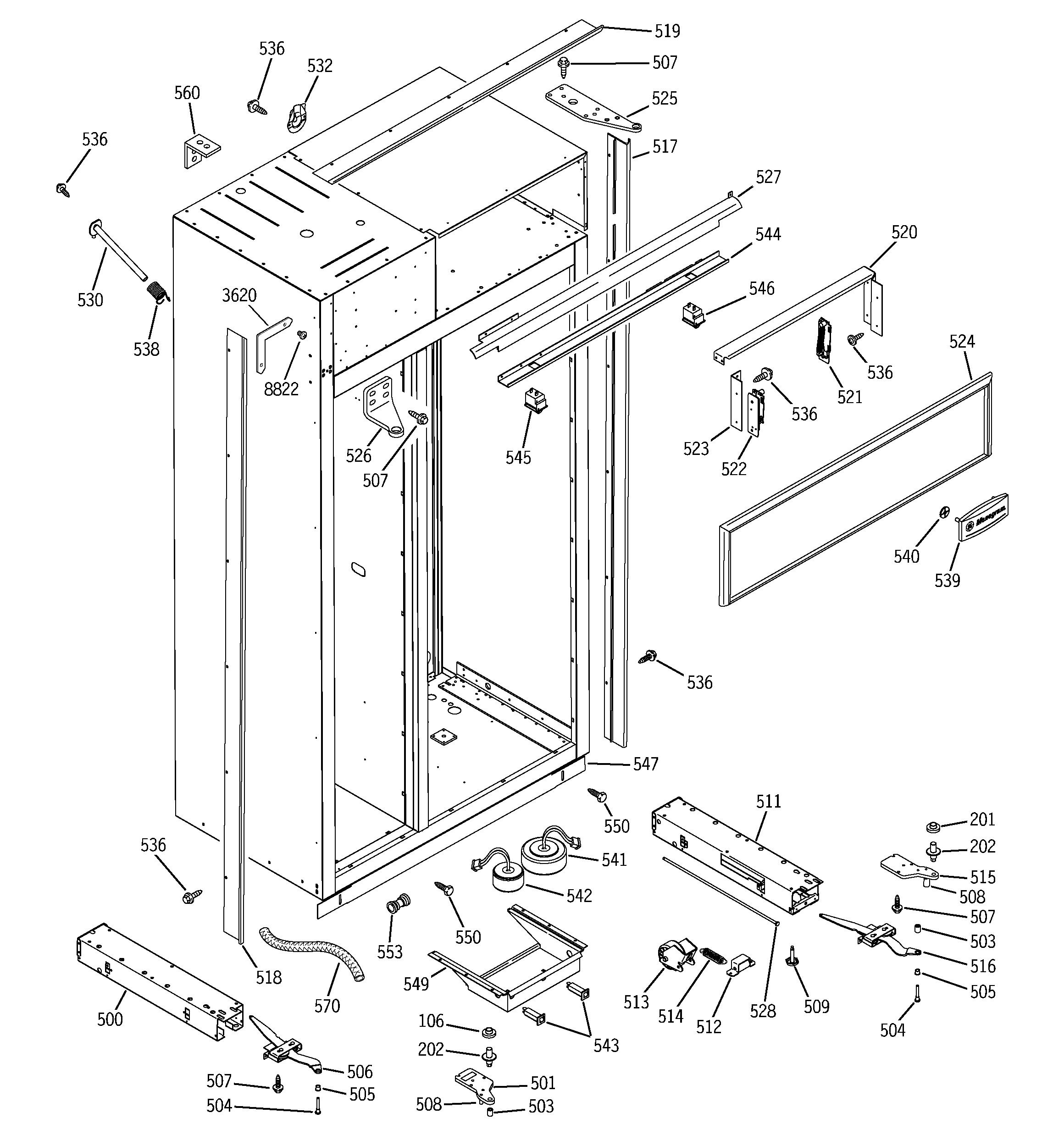 Ge Refrigerator Wiring Diagram Pdf from annawiringdiagram.com