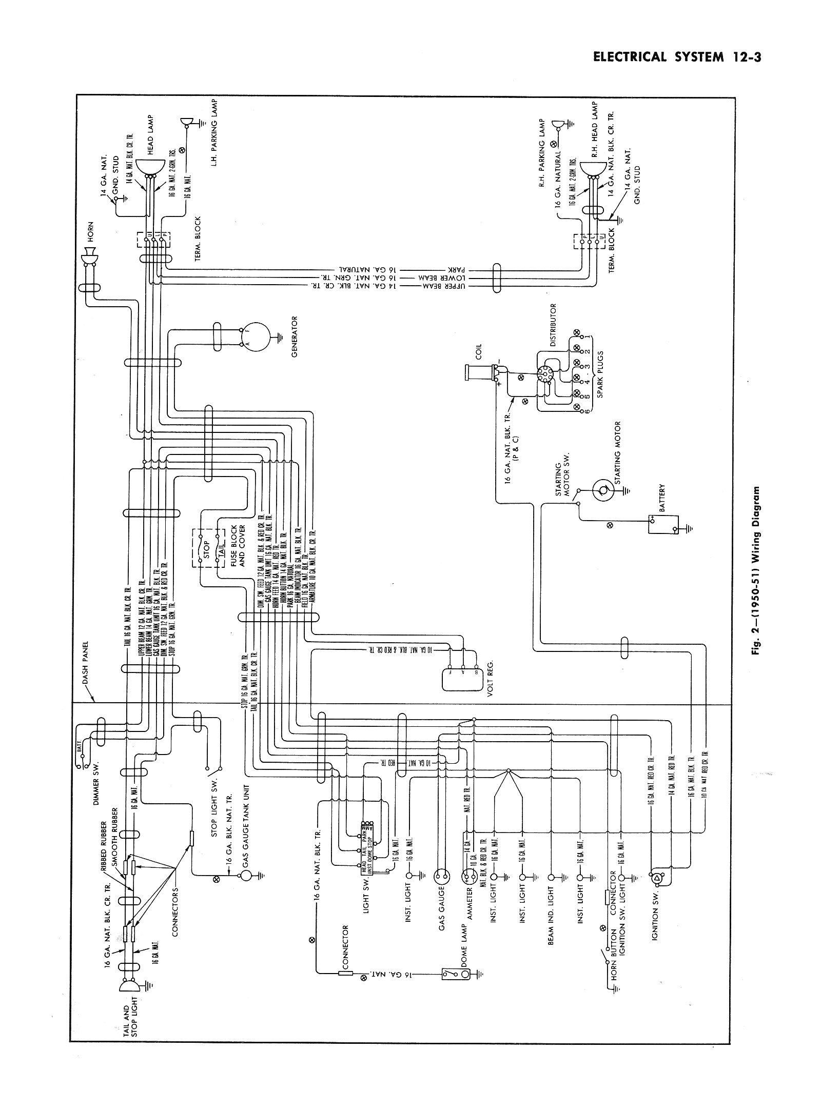 1952 Ford Wiring Diagram - Wiring Diagram Data Oreo - Chevy Alternator Wiring Diagram