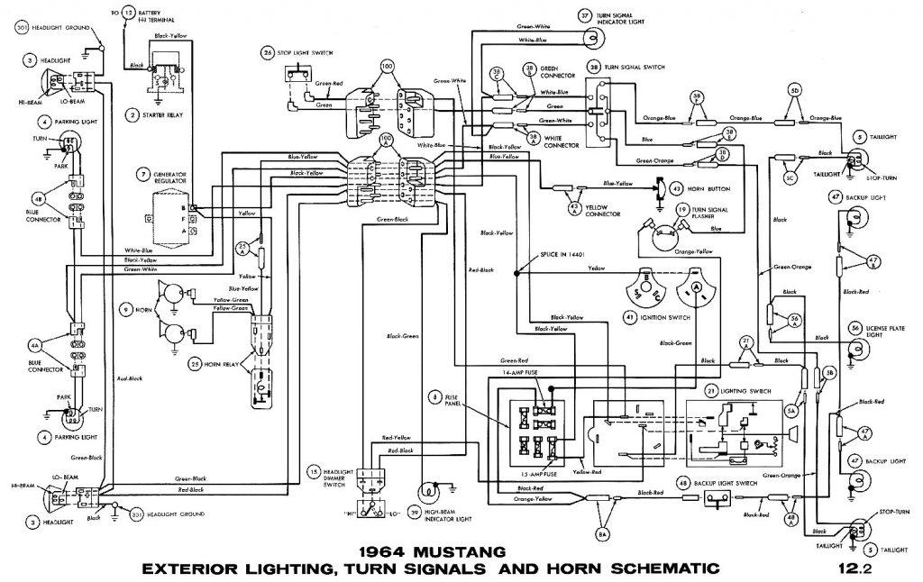 1964 Mustang Wiring Harness - Wiring Diagrams Hubs