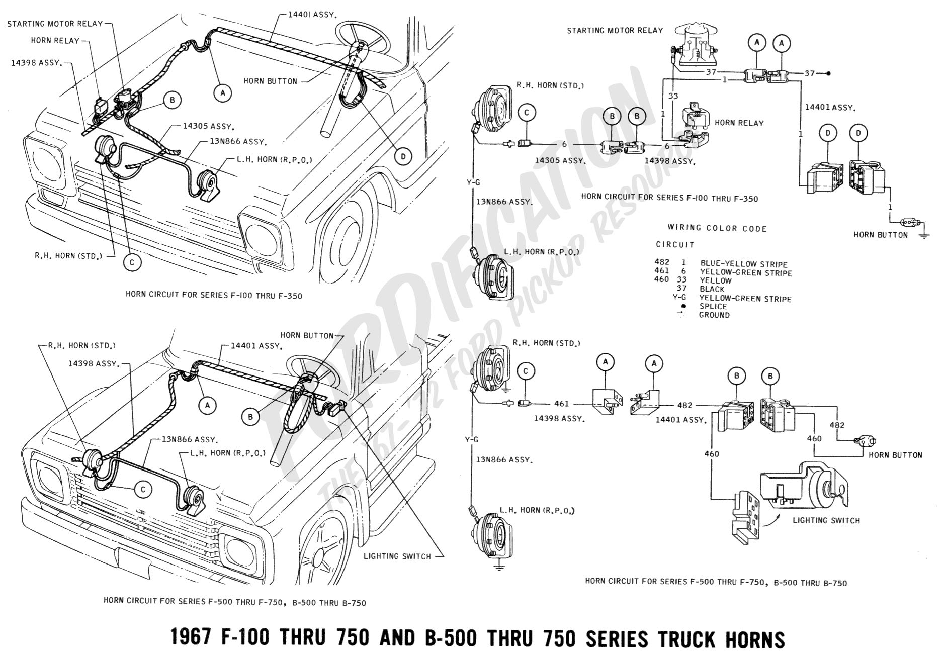 1967 F100 Wiring Diagrams - Wiring Diagrams - Chevy 350 Ignition Coil Wiring Diagram