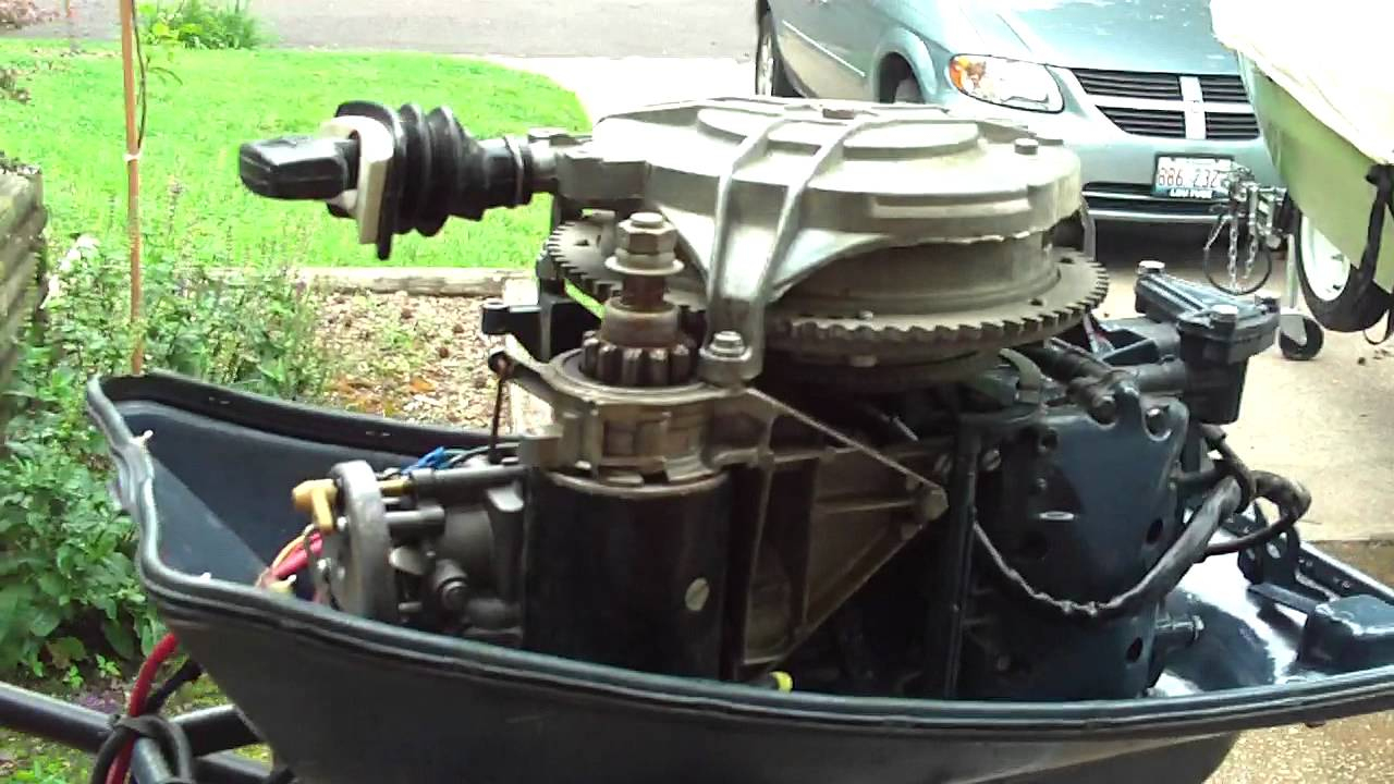 1969 Evinrude Sport 25Hp - Youtube - Evinrude Wiring Diagram Outboards