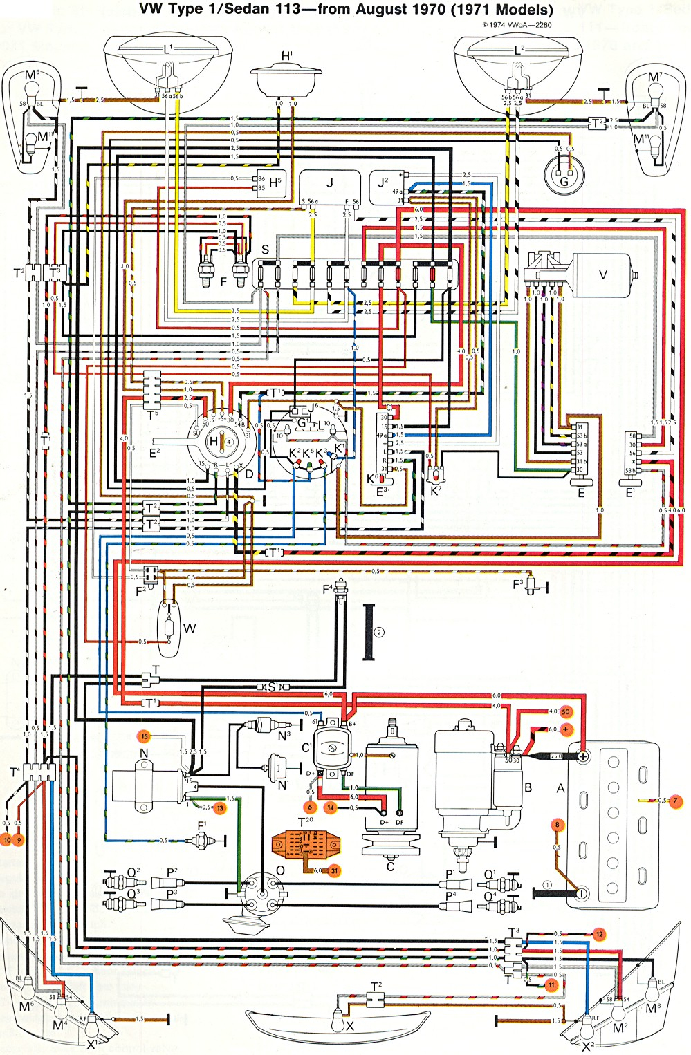 1973 Vw Beetle Wiring Diagram | Wiring Diagram - 1973 Vw Beetle Wiring Diagram