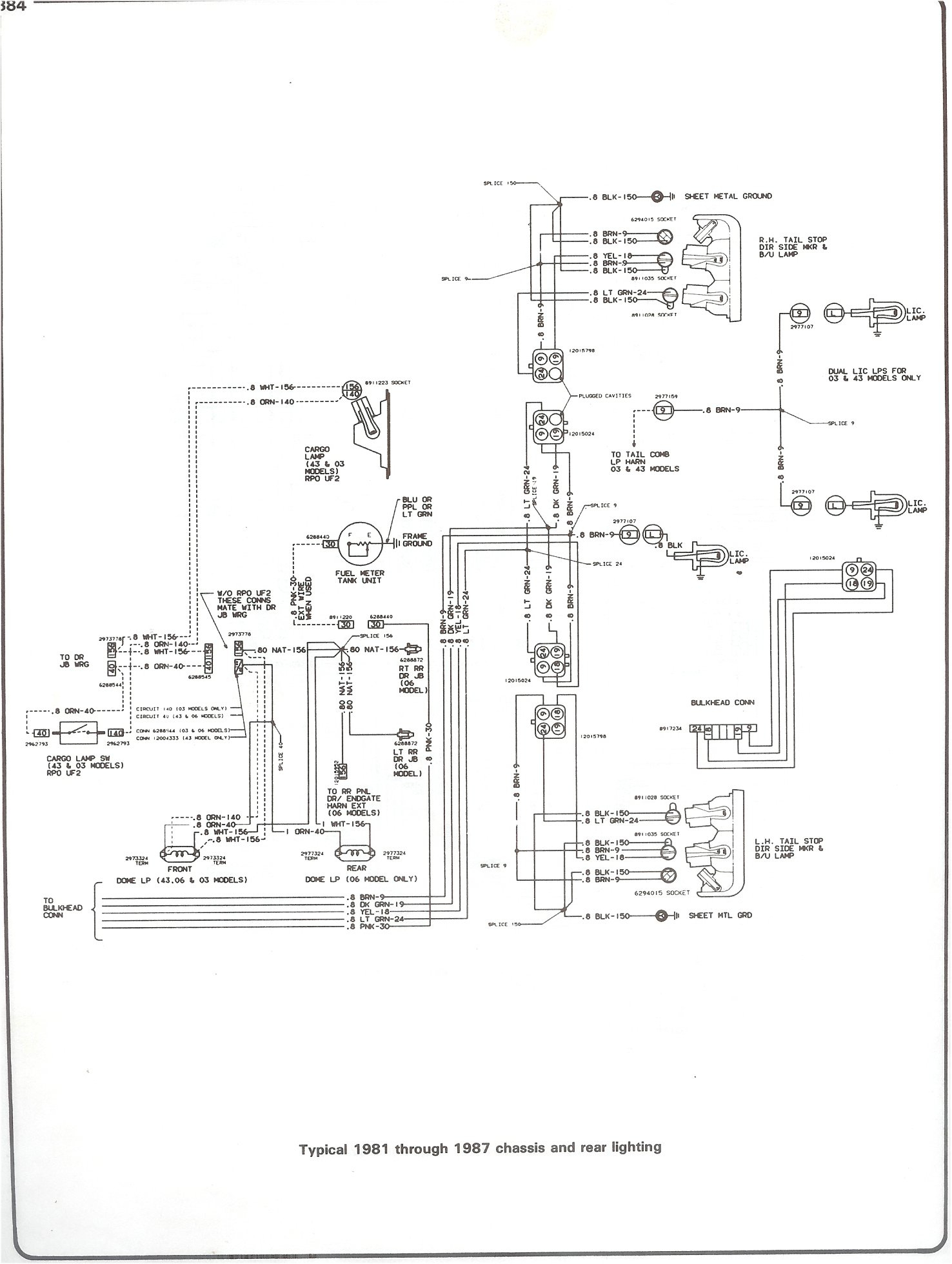 1982 Chevy Truck Wiring Harness - Wiring Diagrams Hubs - 1982 Chevy Truck Wiring Diagram