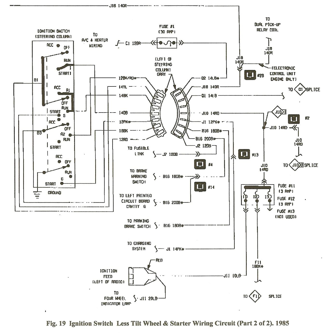 1987 Dodge Ram 150 Wiring Diagram | Manual E-Books - Dodge Ram Wiring Harness Diagram