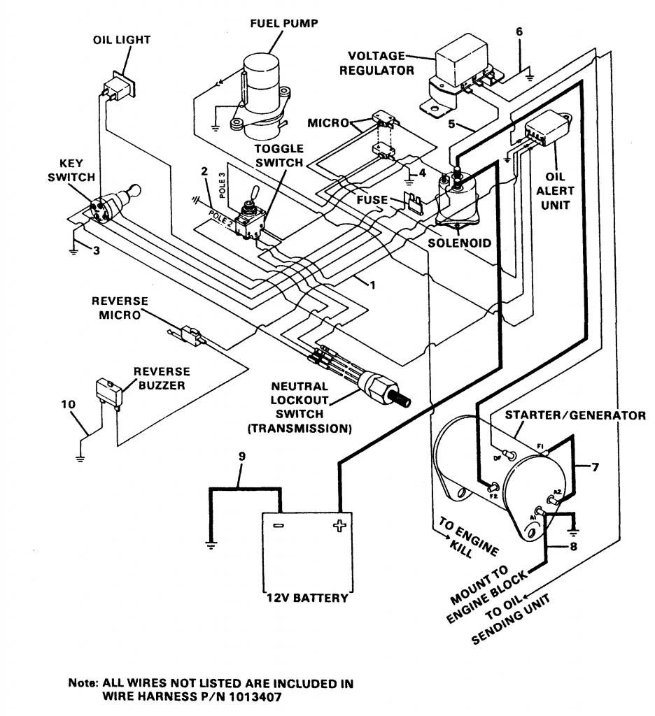 1987 Ez Go Golf Cart Wiring Diagram Teamninjaz Me Throughout Best Of - Ez Go Golf Cart Wiring Diagram