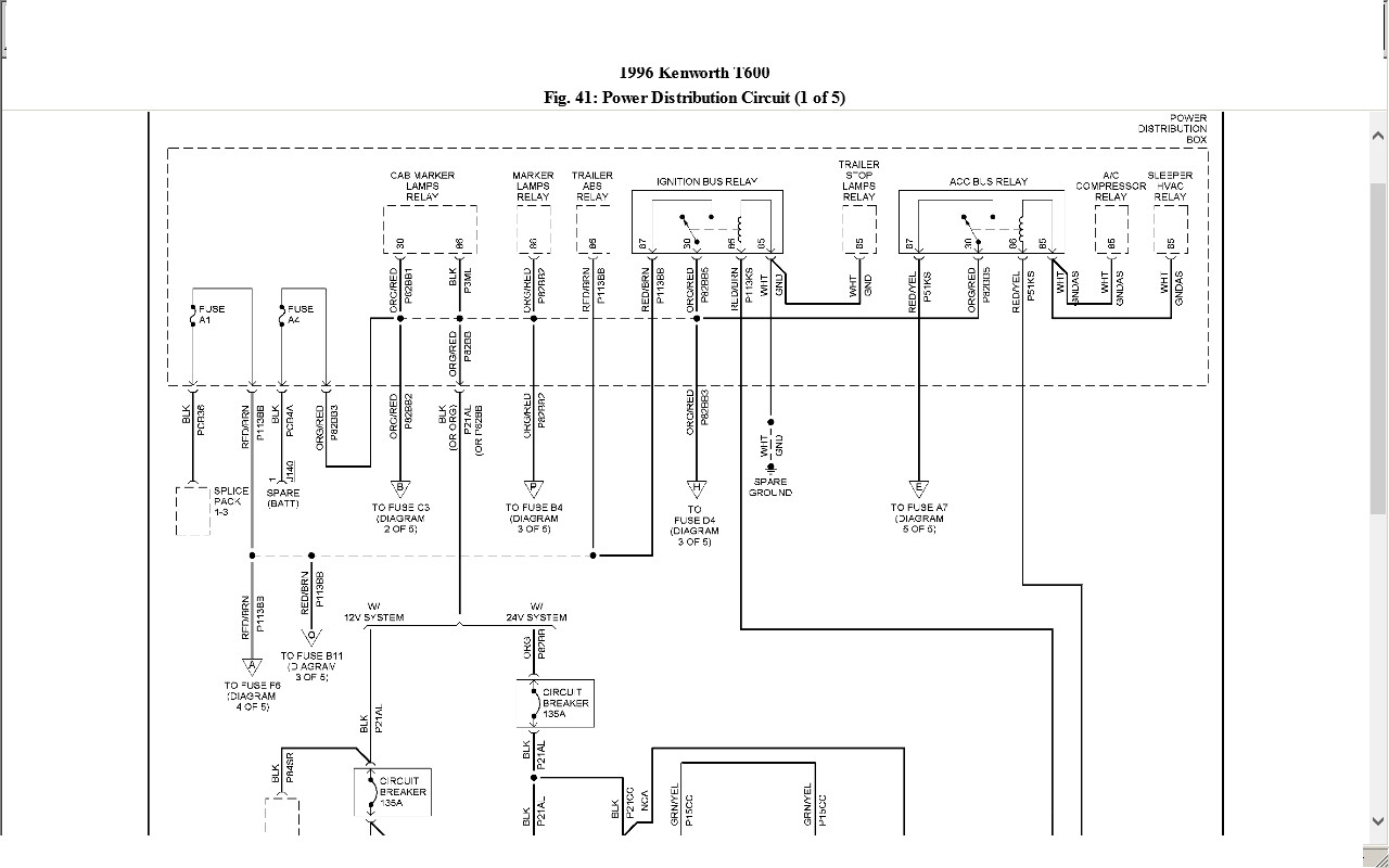 1989 Kenworth Wiring Diagram | Wiring Diagram - Kenworth Wiring Diagram Pdf