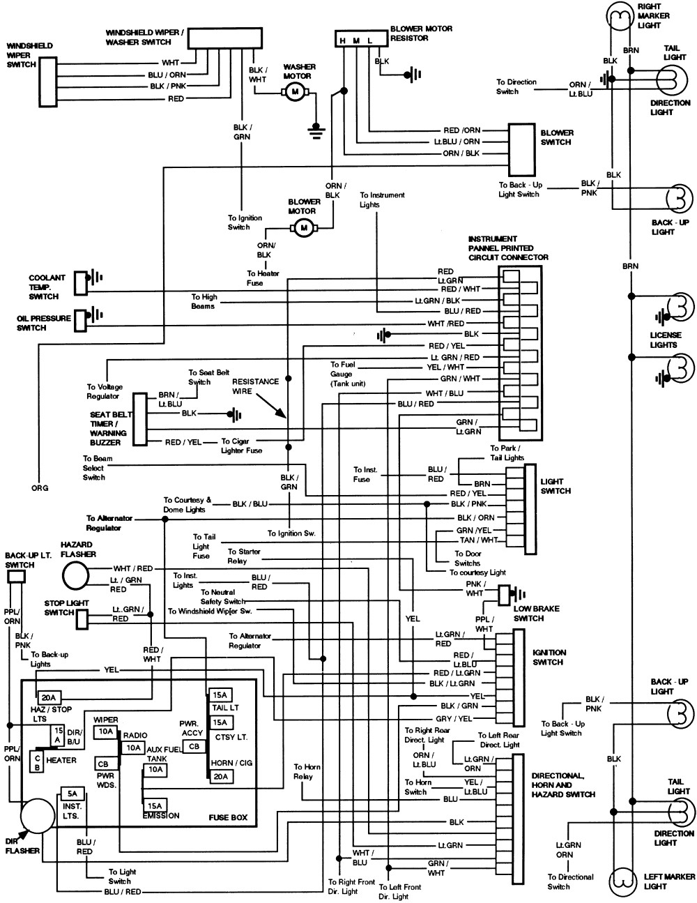1994 Ford Wiring Diagrams - Data Wiring Diagram Detailed - Ford Wiring Diagram