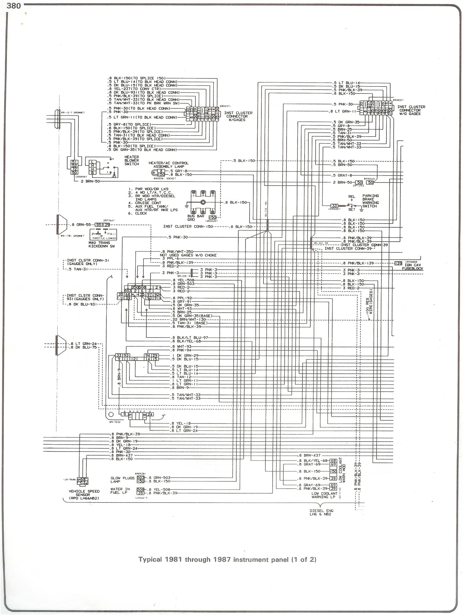 1999 Chevrolet P30 Wiring Diagram - Wiring Diagrams Hubs - 1985 Chevy Truck Wiring Diagram