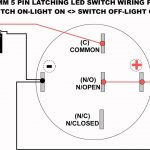 19Mm Led Latching Switch Wiring Diagram   Youtube   Switch Wiring Diagram