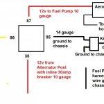 2 Fuel Pump Wiring   Data Wiring Diagram Detailed   Electric Fuel Pump Wiring Diagram