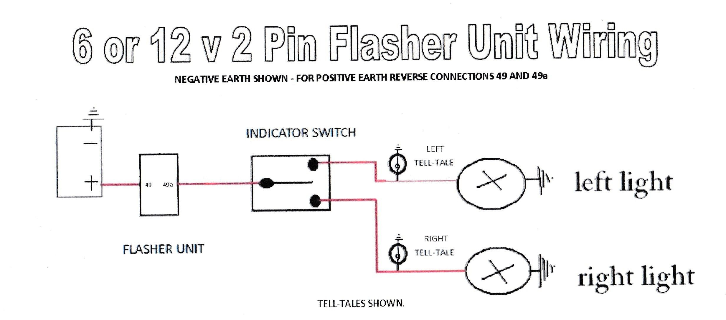 2 Pin Flasher Relay Wiring Diagram - Wiring Data Diagram - 2 Pin Flasher Relay Wiring Diagram