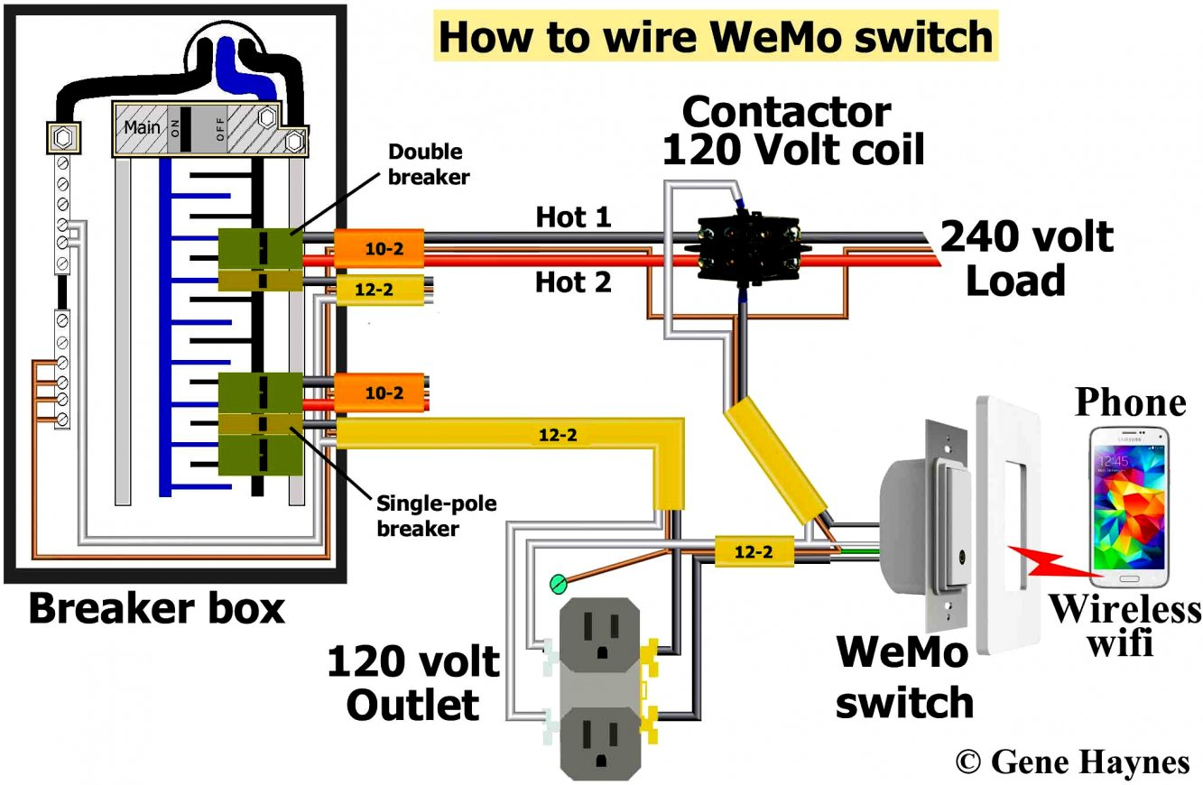 2 Pole Circuit Breaker Wiring Diagram | Wiring Diagram