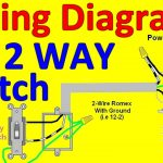 2 Way Light Switch Wiring Diagrams   Youtube   Switch Wiring Diagram
