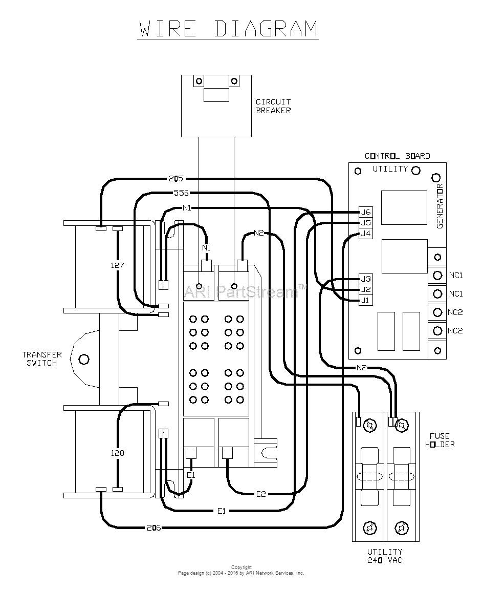 200 Amp Generac Transfer Switch Wiring | Manual E-Books - Generac Manual Transfer Switch Wiring Diagram