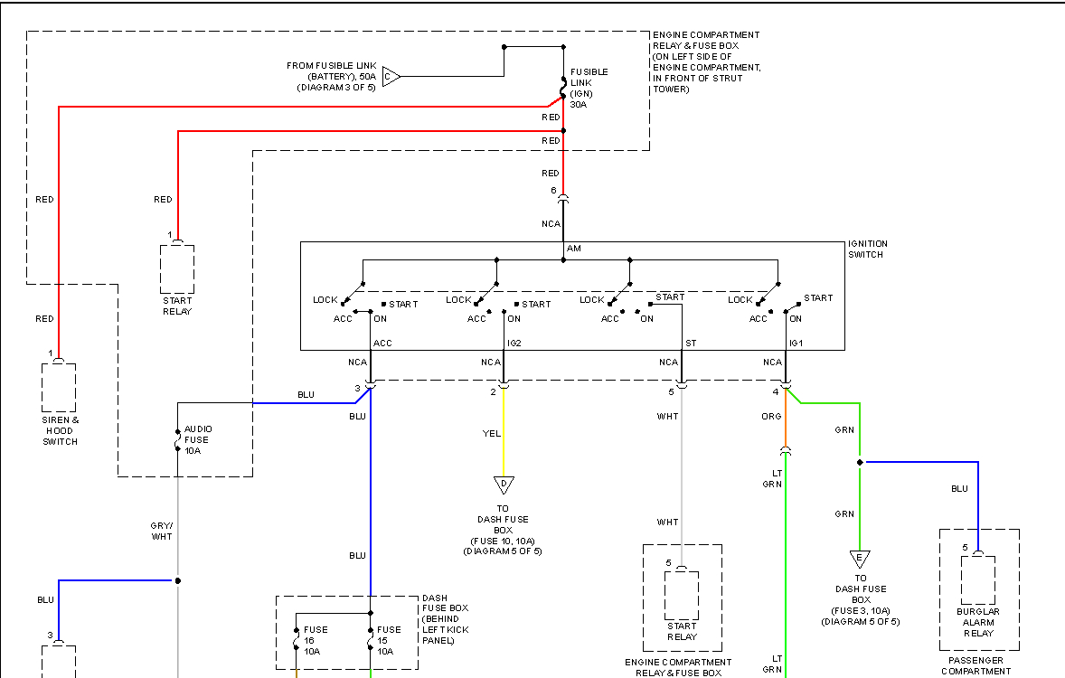 2000 Hyundai Tiburon Radio Wiring Diagram Schematic - Wiring Block - 2000 Jeep Cherokee Radio Wiring Diagram