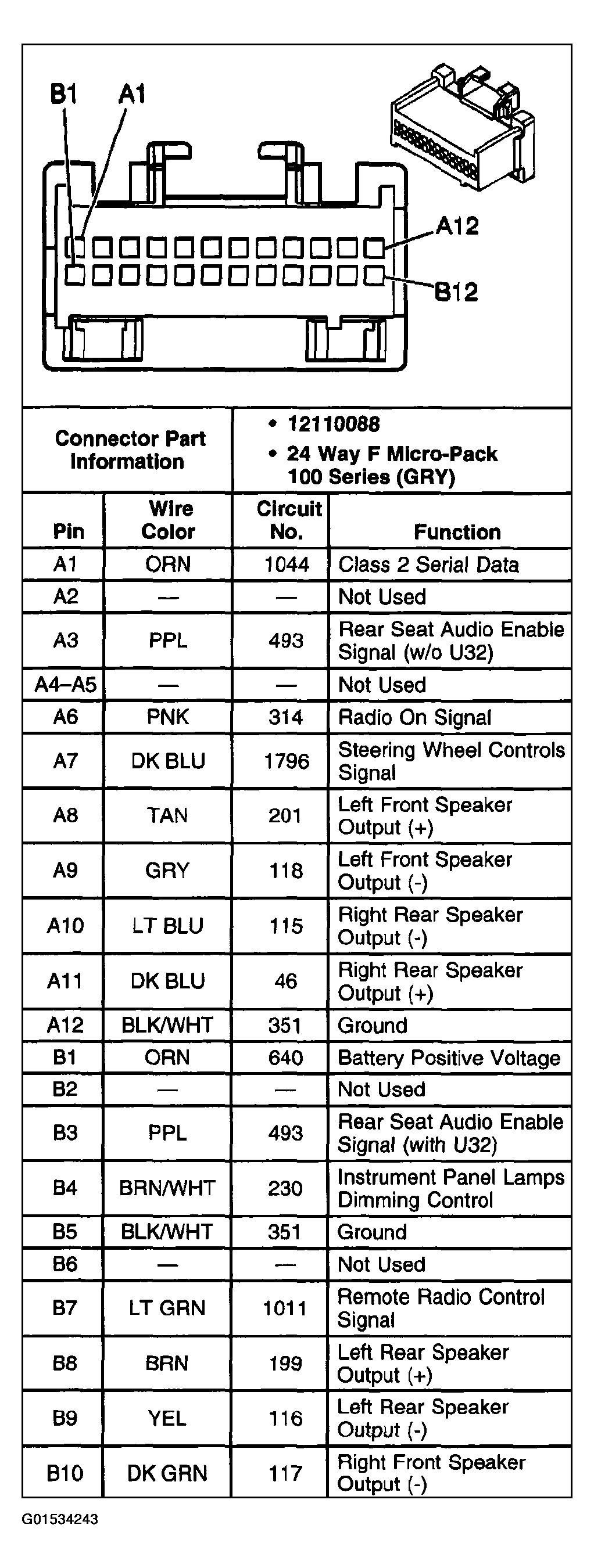 2000 Impala Radio Wiring Diagram Fresh 7 2002 Chevy Trailblazer - 2002 Chevy Trailblazer Radio Wiring Diagram