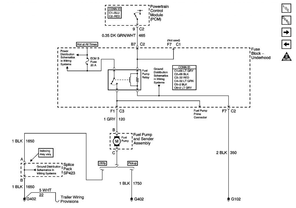 2003 Chevy S10 Wiring Diagram