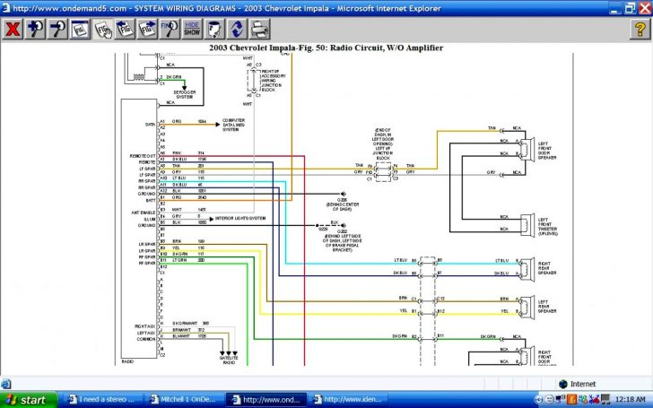2007 Chevy Impala Radio Wiring Diagram