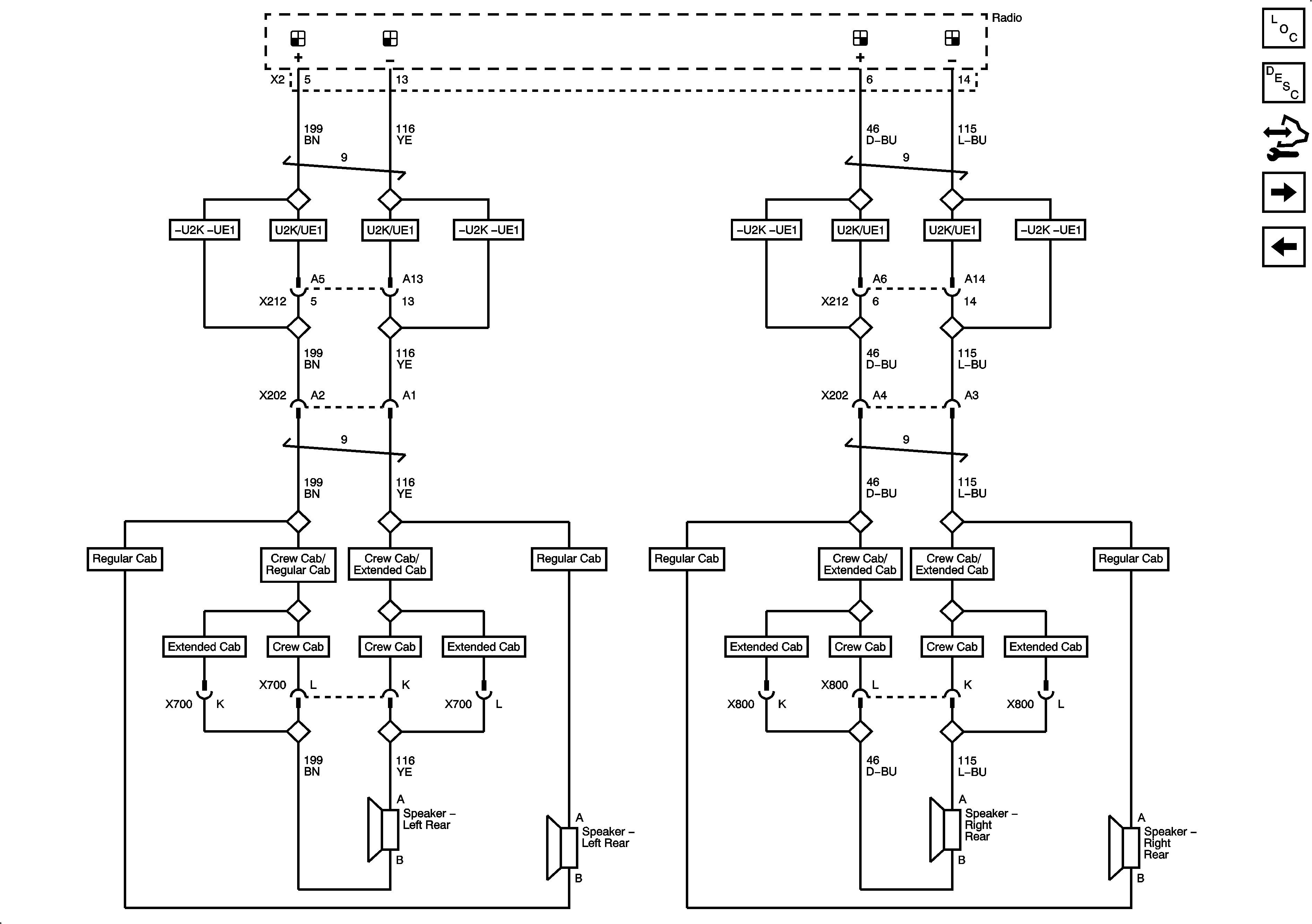 2007 Chevy Silverado Classic Radio Wiring Diagram Valid 2001 - 2007 Chevy Silverado Radio Wiring Harness Diagram