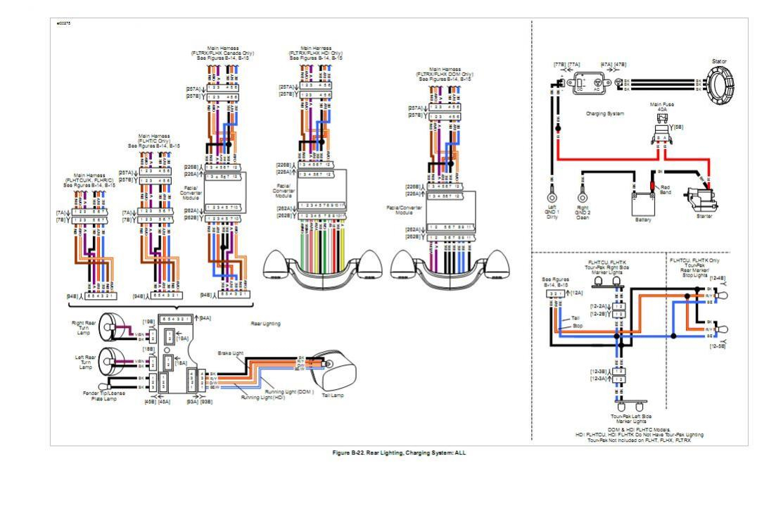 2014 Harley Davidson Tail Light Wiring Diagram | Manual E-Books - Harley Davidson Tail Light Wiring Diagram