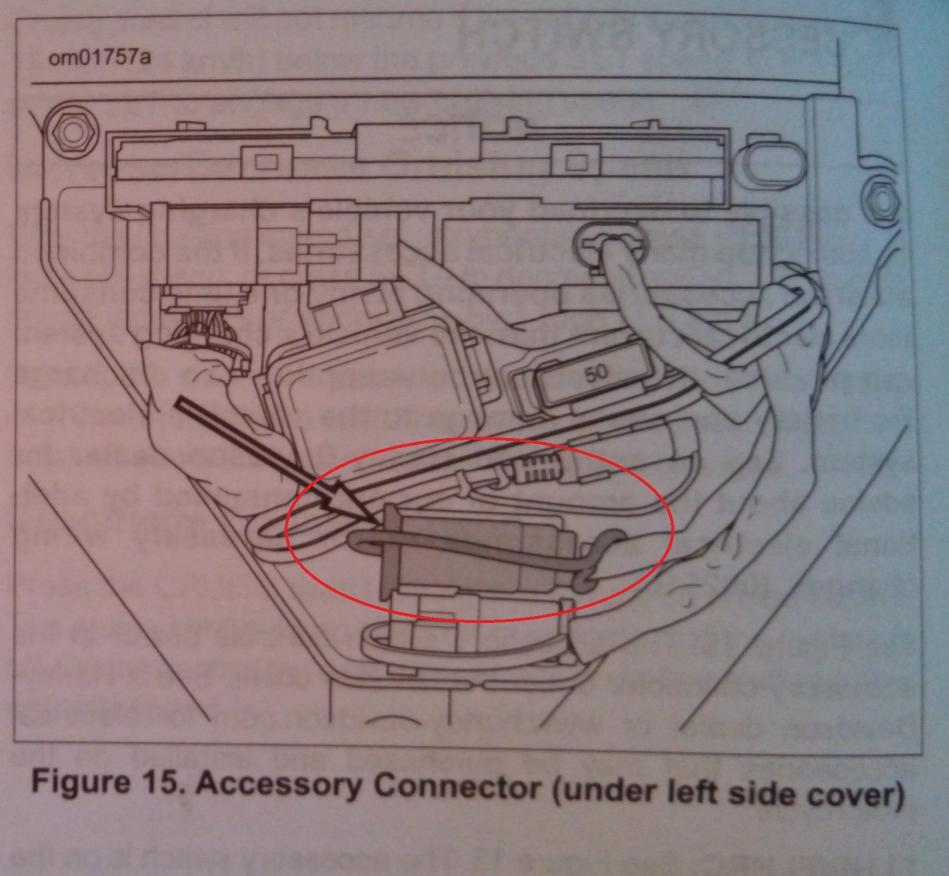 2014 Ultra Limited Accessory Plug - Harley Davidson Forums - Harley Accessory Plug Wiring Diagram