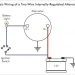21V 8N 3 Wire Alternator Diagram   Wiring Diagram Detailed   Chevy 4 Wire Alternator Wiring Diagram
