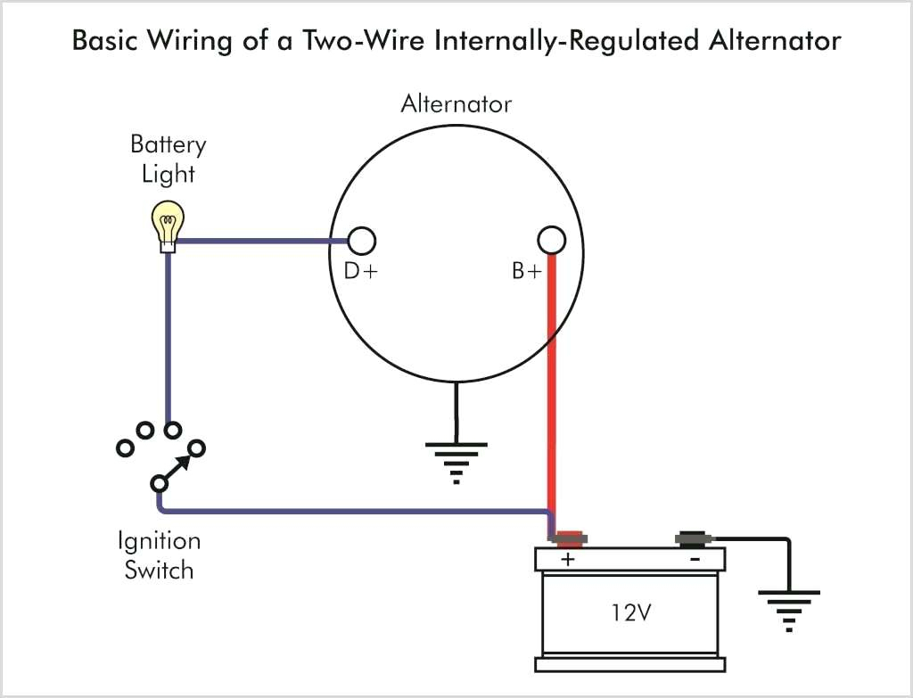 21V 8N 3 Wire Alternator Diagram - Wiring Diagram Detailed - Chevy 4 Wire Alternator Wiring Diagram