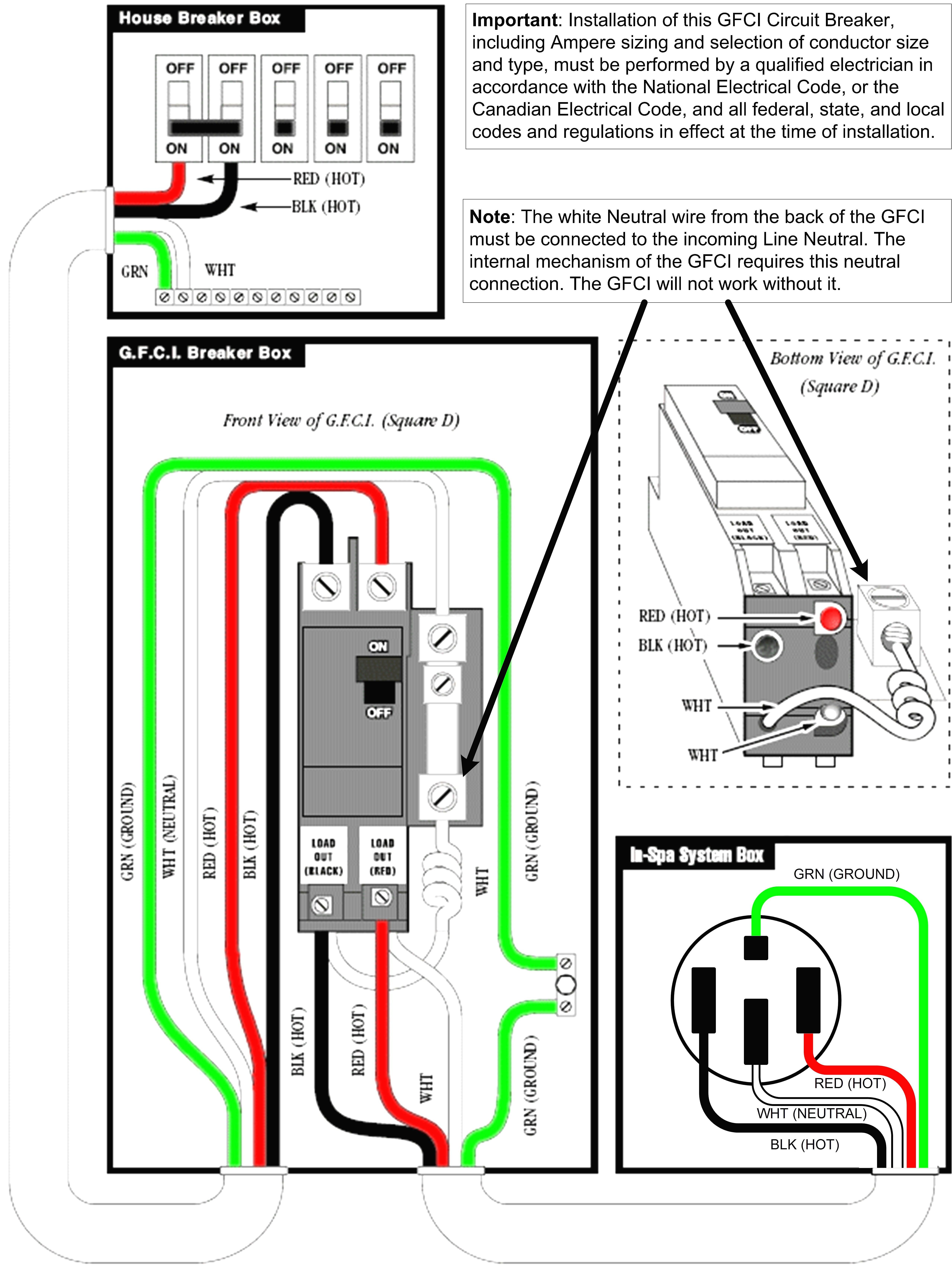 4 Wire 220 Volt Wiring Diagram