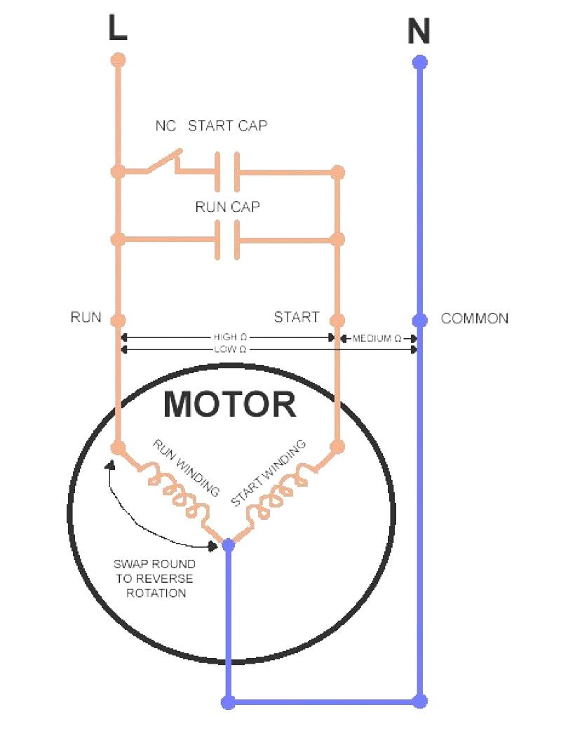 220V Single Phase Motor Winding Diagram | Wiring Diagram - 220V Single Phase Motor Wiring Diagram