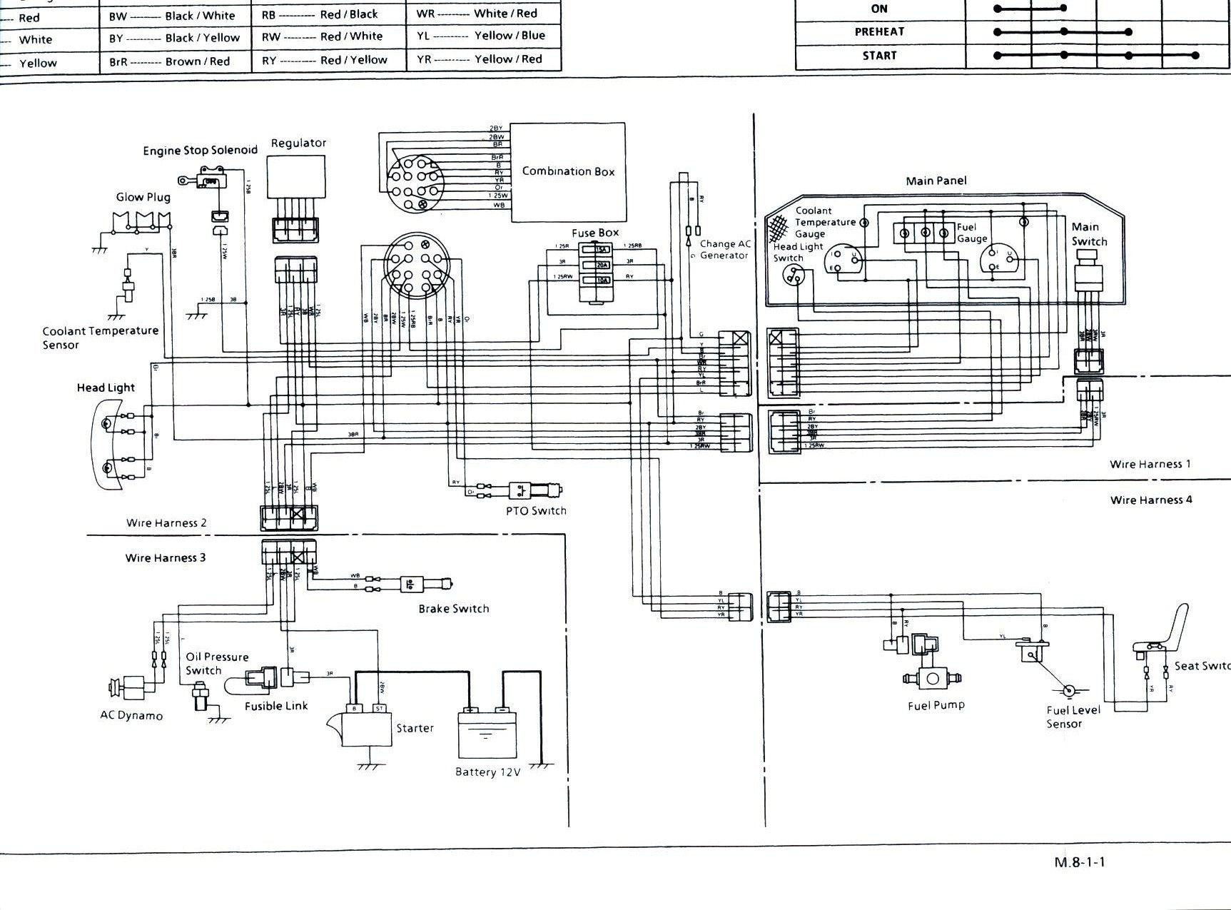 2230 Kubota Glow Plug Diagram - Great Installation Of Wiring Diagram • - Kubota Glow Plug Wiring Diagram