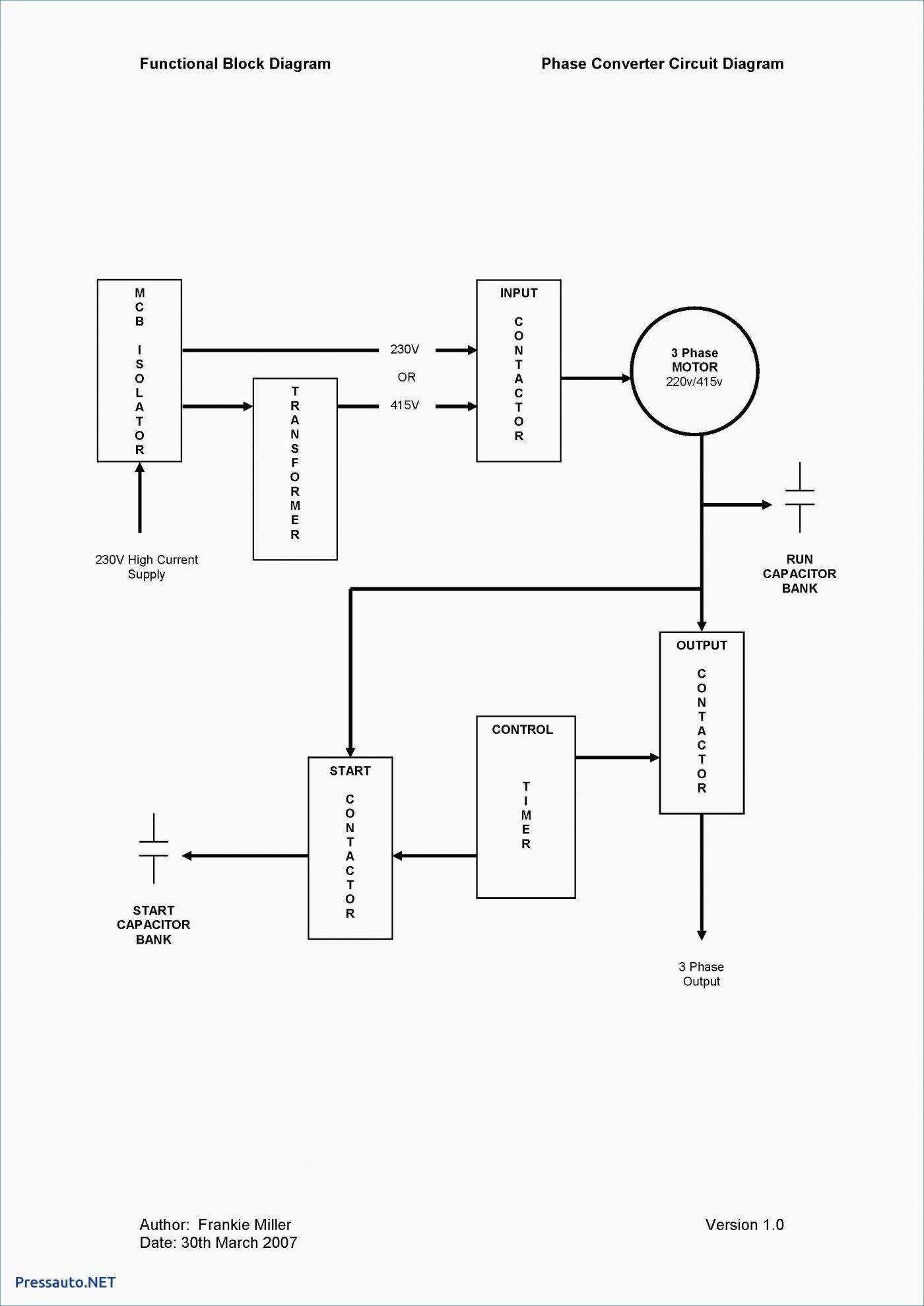 230V Single Phase Wiring Diagram   Wiring Diagram - Wiring Diagram For 230V Single Phase Motor