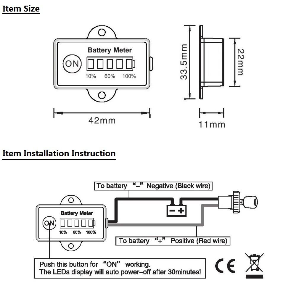 24 Volts Golf Cart Club Car Wiring Diagram | Wiring Diagram - Golf Cart Battery Meter Wiring Diagram
