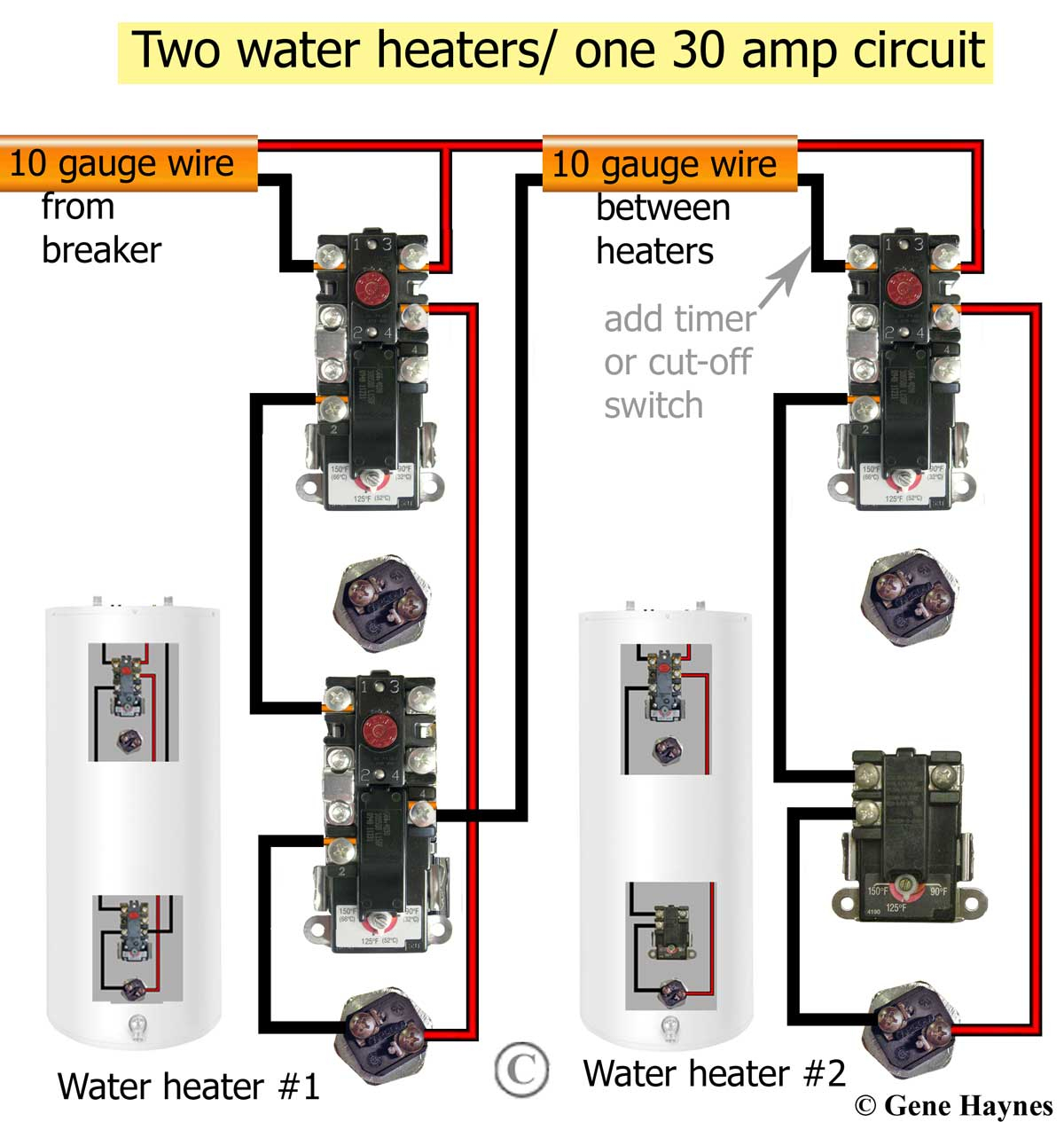 240V Water Heater Wiring Diagram Free And | Msyc Switch Wiring Diagram - Water Heater Wiring Diagram