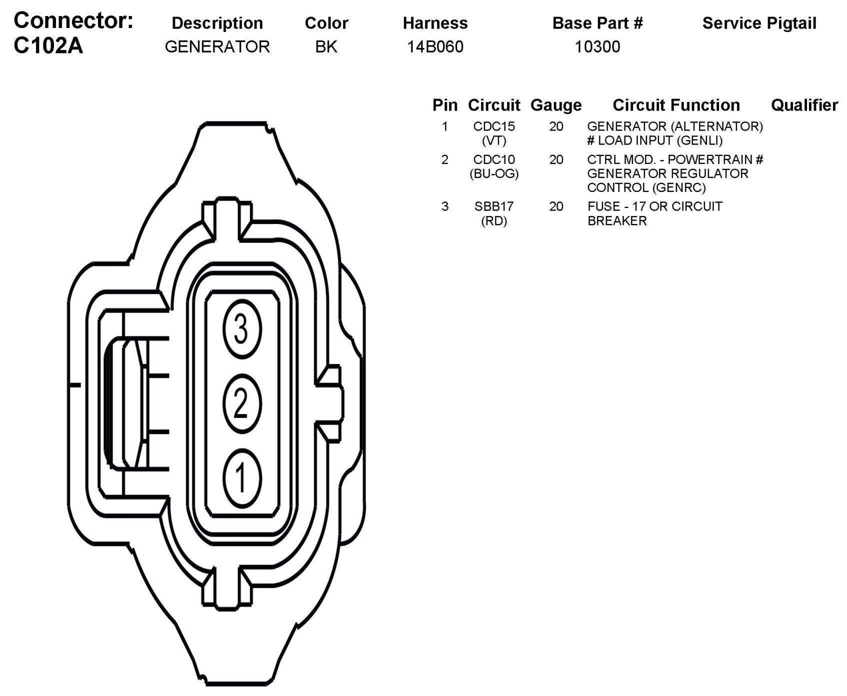 2Wire Alternator Wiring Diagram Generator | Wiring Diagram - Gm 2 Wire Alternator Wiring Diagram