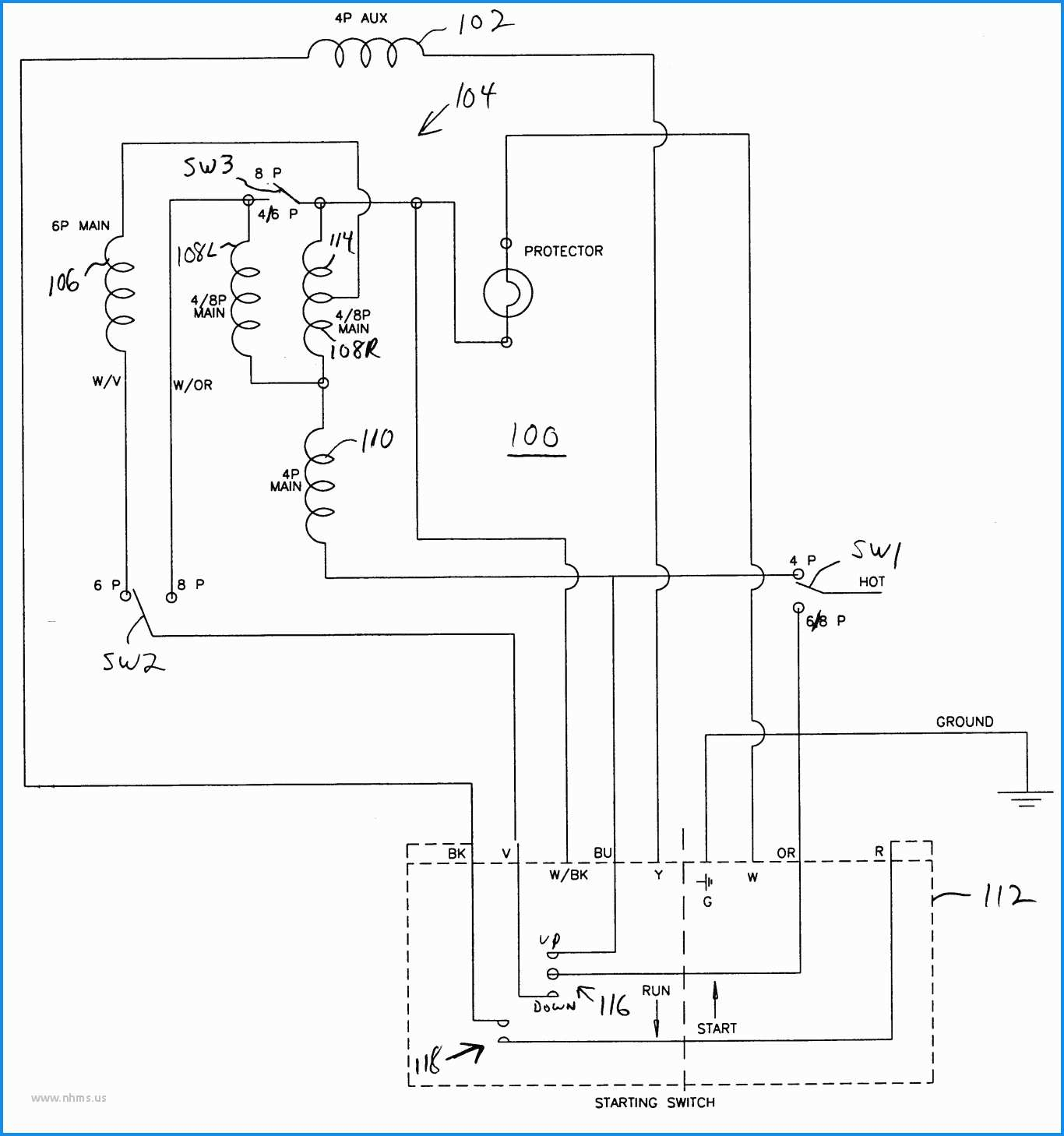 3 4 Hp Ao Smith Electric Motor Wiring Diagram - Wiring Diagrams Hubs - Ao Smith Motor Wiring Diagram