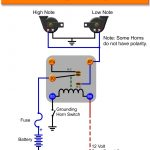3 Horn Relay Wiring Diagram | Manual E Books   Horn Wiring Diagram With Relay
